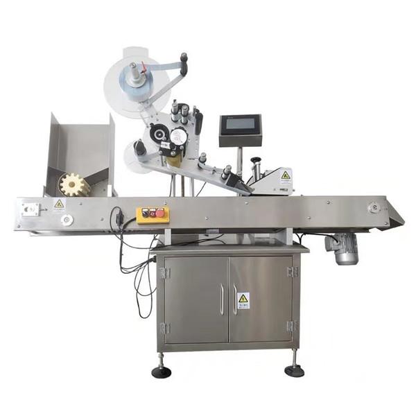 Machine à étiquettes ronde d'autocollant de fiole 10ml avec l'acier inoxydable Sus304