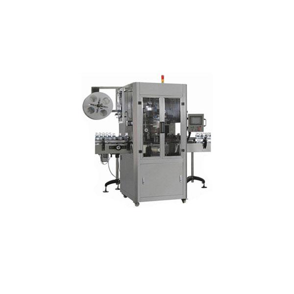 Machine d'applicateur de douille de rétrécissement de bouteille d'eau de 5 gallons pour la grande bouteille ronde