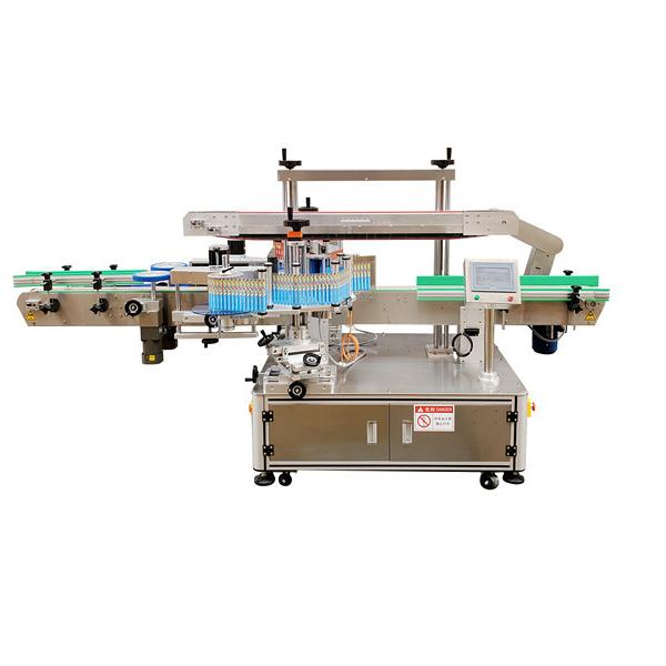 Machine à étiqueter de bouteille en plastique latérale de double autocollant automatique 12 mois de garantie