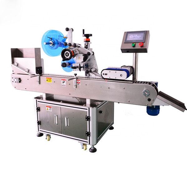 Norme élevée de machine automatique d'étiqueteuse de bouteille pour la bouteille liquide d'E