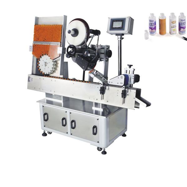 Machine à étiqueter automatique d'autocollant de fiole de sac d'engrais 220V 2kw