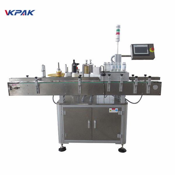Machine automatique d'applicateur d'étiquette d'autocollant pour la bouteille de bière 220V 1.5H