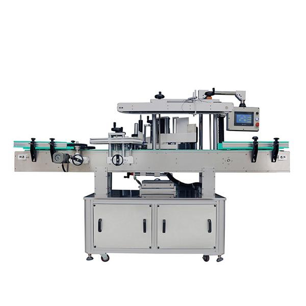 Machine à étiquettes automatique d'autocollant, machine ovale d'applicateur d'étiquette de bouteille
