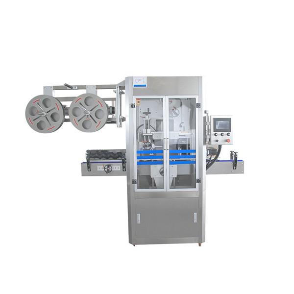 Machine d'applicateur de douille de rétrécissement d'acier inoxydable de cachetage de chapeau avec le générateur de vapeur
