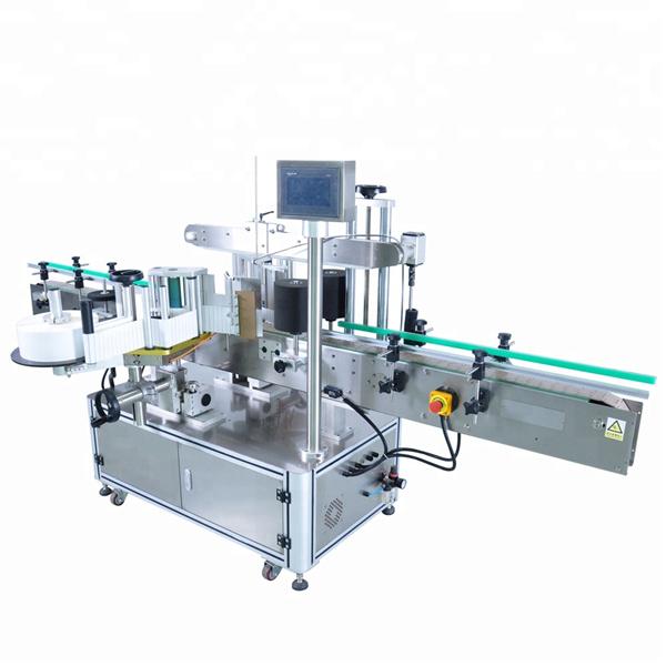 Machine automatique adaptée aux besoins du client d'applicateur d'étiquette pour la bouteille détergente ronde