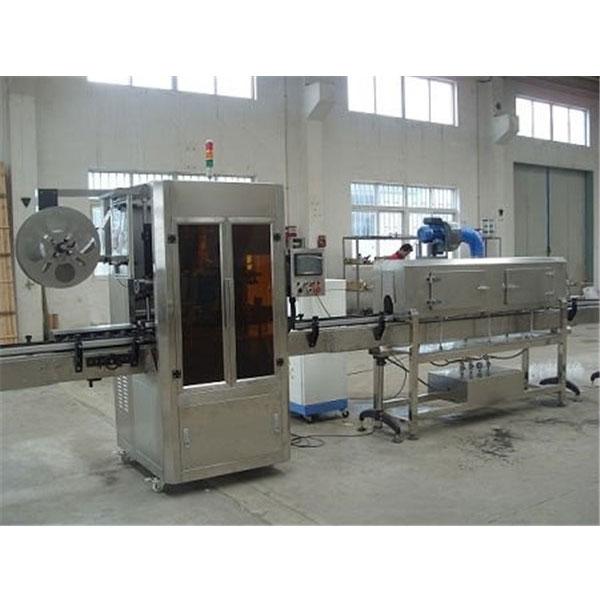 Machine en plastique d'étiquette de douille de rétrécissement de tasse de contrôle numérique avec le générateur de vapeur