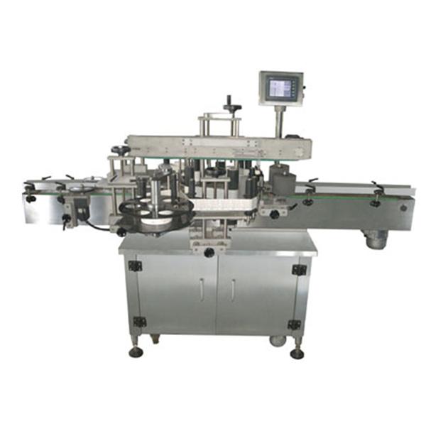 Machine à étiquettes automatique double face