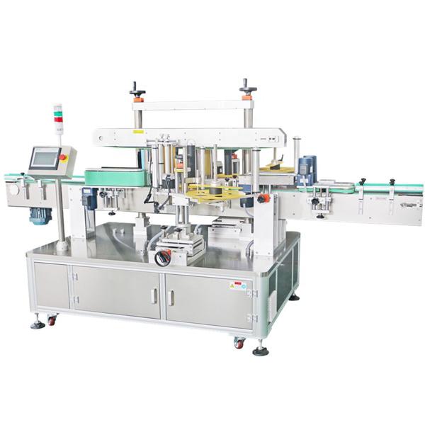 Machine à étiqueter double face d'autocollant, machine automatique d'applicateur d'étiquettes