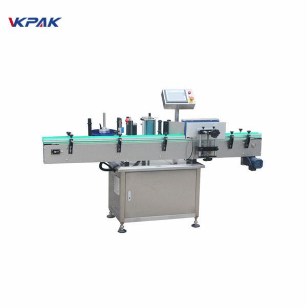 Machine d'applicateur d'étiquettes de haute précision entièrement automatique de prix d'usine