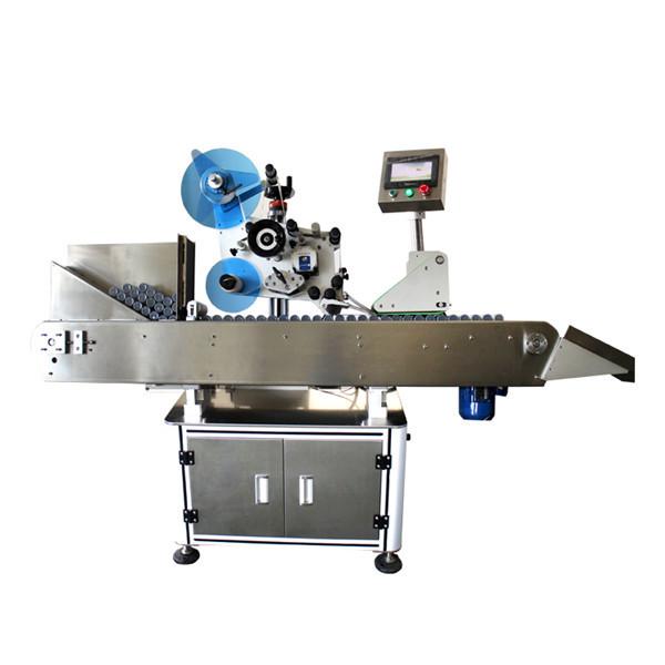 Machine à étiquettes industrielle à grande vitesse d'autocollant de flacon de bouteille