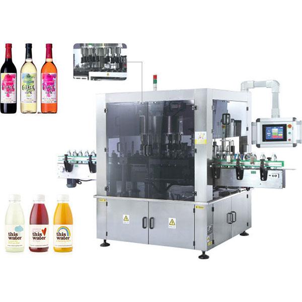 Machine à étiquettes rotative à grande vitesse d'autocollant avec la fonction de rotation