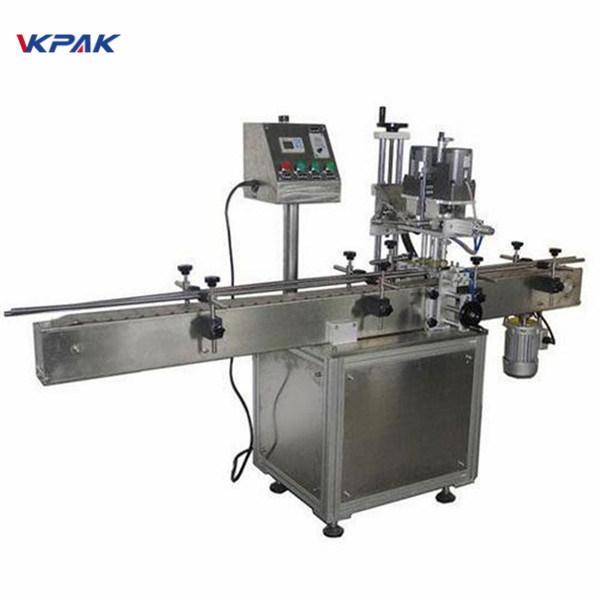Machine à étiqueter ronde double face industrielle de bouteille pour des produits cosmétiques