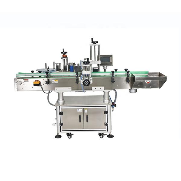 Machine à étiquettes automatique intelligente d'autocollants de double face de contrôle de PLC