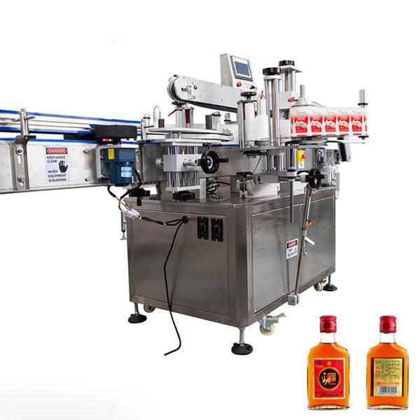 Machine à étiqueter pour tasses et bouteilles rondes bâton complètement automatique