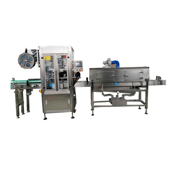Machine d'applicateur de manchon rétractable en acier inoxydable OPS pour bouteilles
