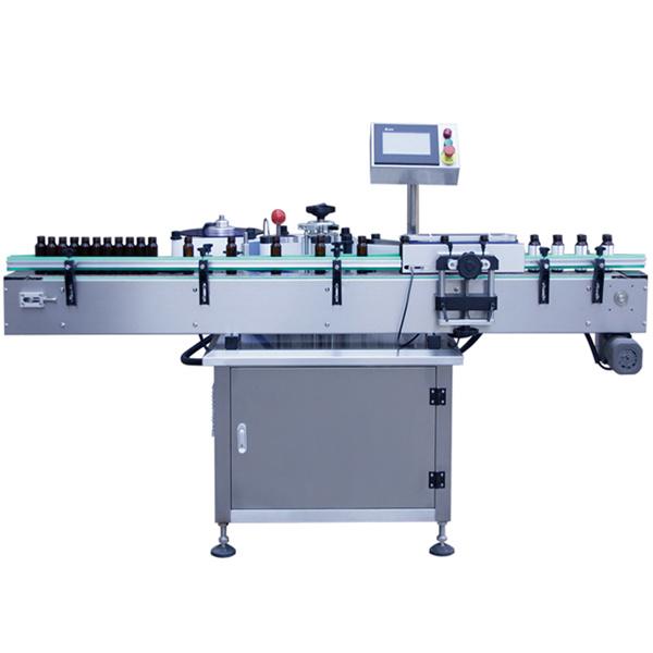 Machine à étiquettes automatique de contrôle de PLC