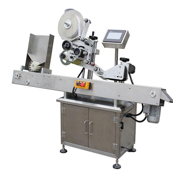 Machine d'applicateur d'étiquette de contrôle d'écran tactile de PLC