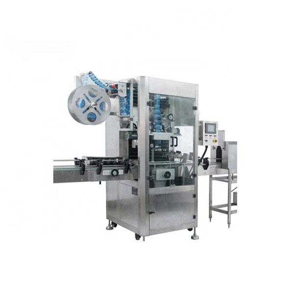 Machine d'applicateur de manchon rétractable en PVC Machine à étiquettes rétractable entièrement automatique
