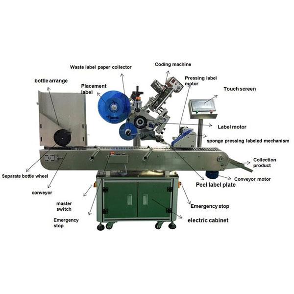 La machine à étiquettes pharmaceutique d'autocollant de fiole 10-30 millimètres met en bouteille le diamètre