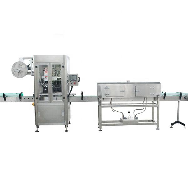 Machine à étiquettes à grande vitesse de manchon rétractable de tasse en plastique avec le générateur de vapeur