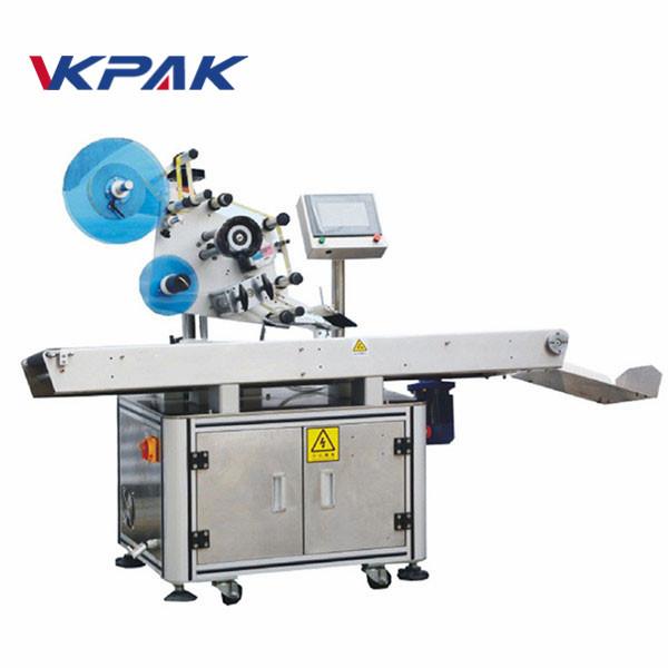 Machine d'applicateur d'étiquettes à surface plane en poly sac