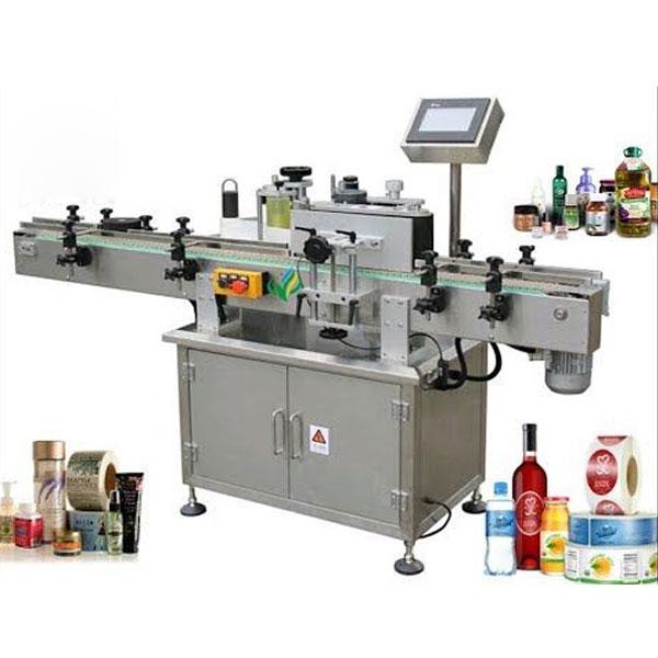 Machines d'étiquetage de bouteilles rondes, applicateur d'étiquettes enveloppantes