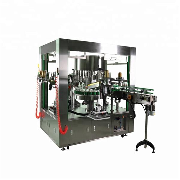 Étiqueteuse rotative de bouteille ronde avec le système de machine à étiqueter de plat de rotation