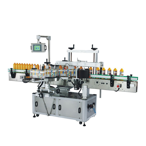 Machine d'étiquetage auto-adhésive avant et arrière