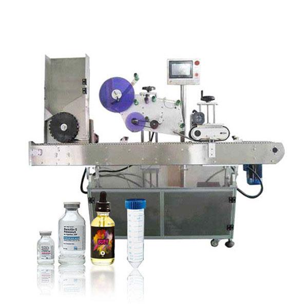 Machine à étiquettes horizontale automatique de contrôleur servo de flacon Siemens Plc