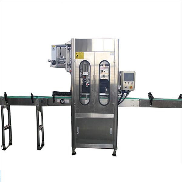 Machine à étiquettes ronde de rétrécissement de bouteille d'applicateur d'étiquette de douille de rétrécissement de petite capacité