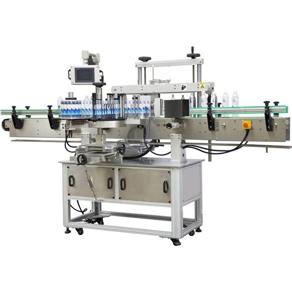 Machine à étiquettes enveloppante carrée