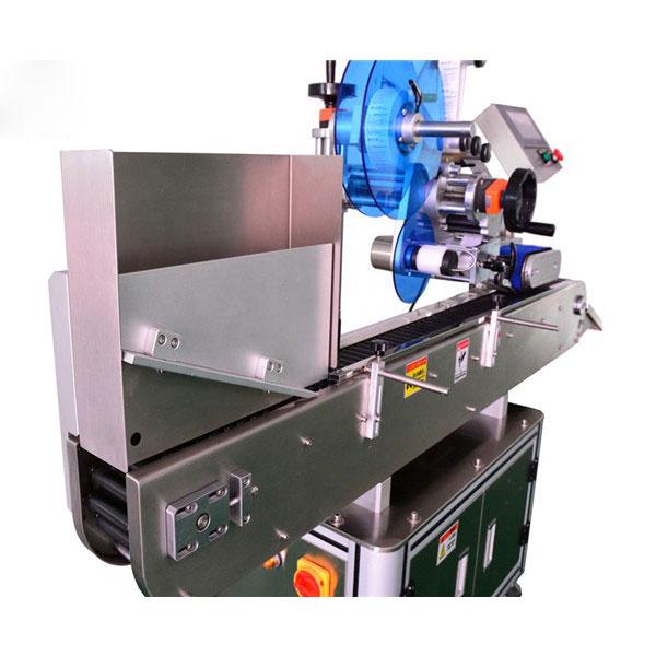 Machine à étiquettes d'autocollant de fiole d'acier inoxydable pour des ampoules