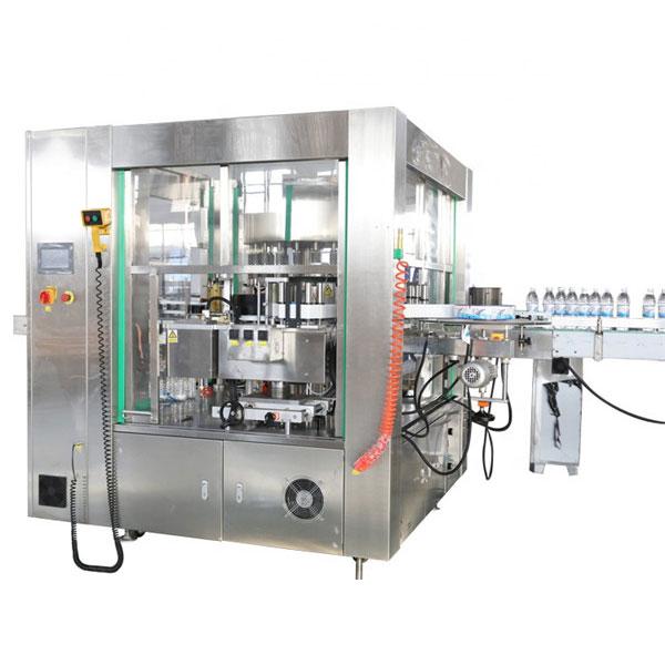 Machines automatiques de système rotatoire de machine d'étiquetage d'autocollant d'emplacement de trois faces