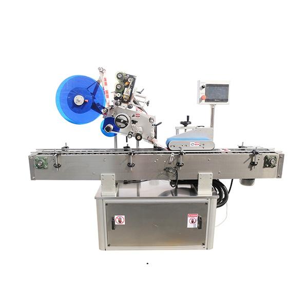 Machine à étiqueter dessus et double face