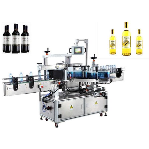 Machine d'applicateur d'étiquette de bouteille de vin, étiqueteuse de bouteille de bière
