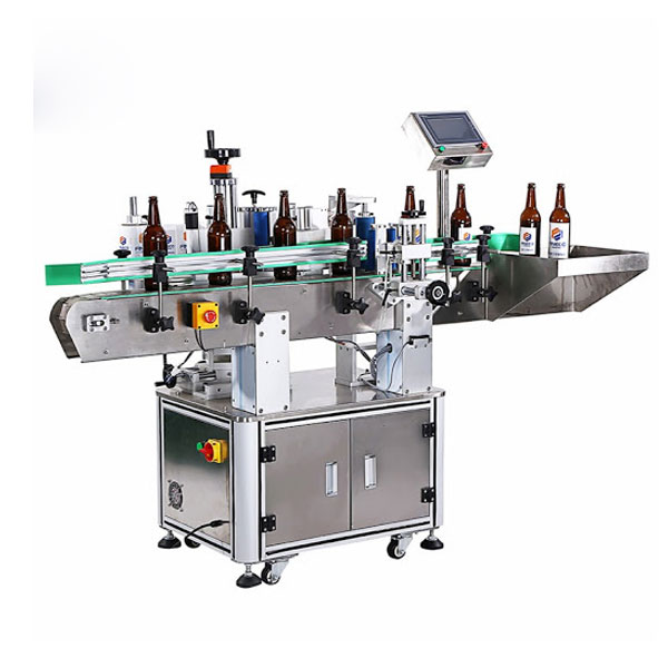 Machine à étiqueter les bouteilles de vin
