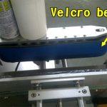 Machine d'applicateur d'étiquettes de vernis à ongles adhésifs