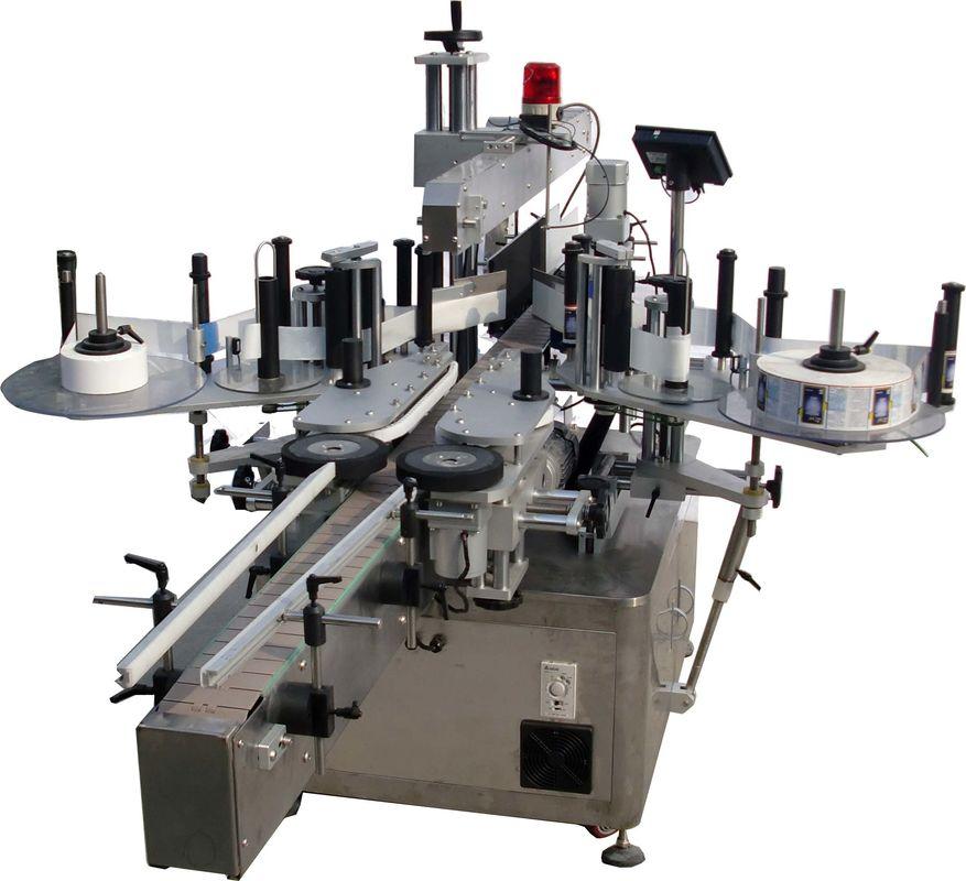 Machine à étiqueter automatique de surface plane pour la grande vitesse d'usine de sacs