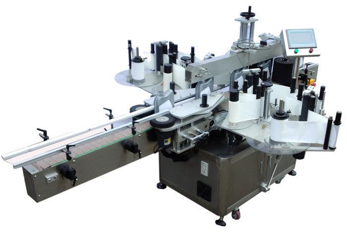 Machine d'étiquetage d'autocollant double face économique en acier inoxydable SUS304