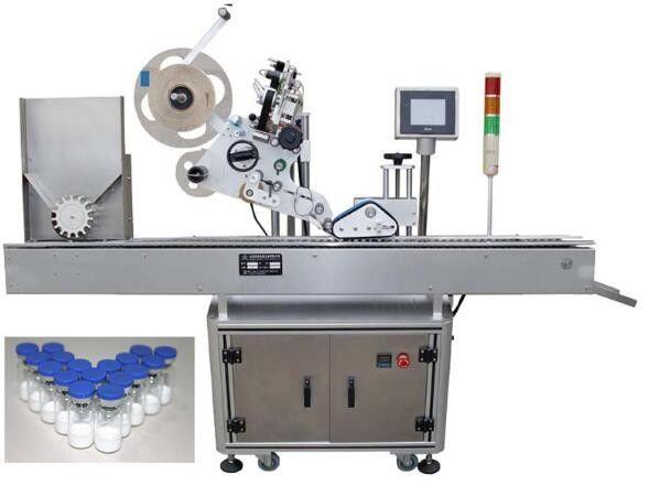 Petite machine à étiquettes de bouteille 10ml pour les produits pharmaceutiques