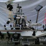 Plc célèbre machine japonaise d'applicateur d'étiquettes de surface plane de marque Mitsubishi