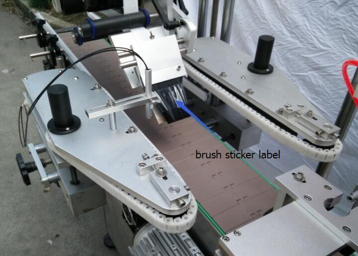 Machine à étiquettes ronde automatique d'autocollant de bouteille pour le moteur de rayon de bouteille de bière