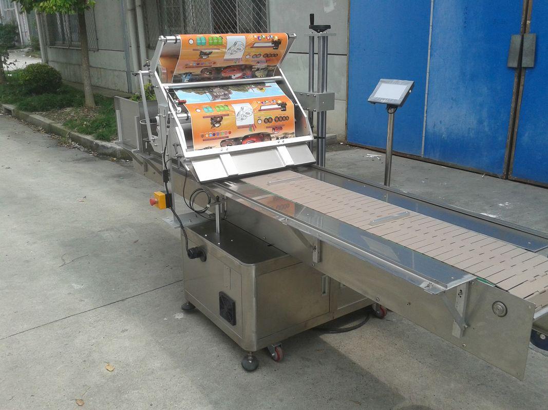Applicateur d'étiquette de surface plane d'autocollant auto-adhésif de dessus de Tableau avec la machine de téléavertissement