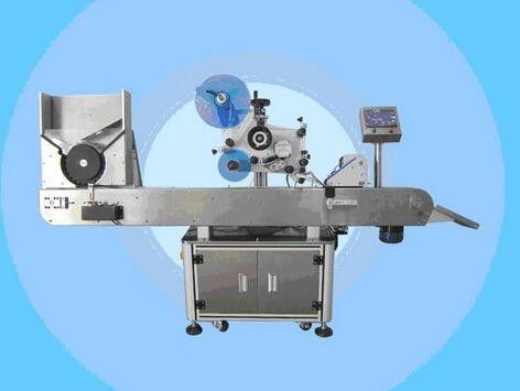 Machine automatique d'autocollant d'étiquette de vernis à ongles de machine d'étiquetage de fiole pour des cosmétiques