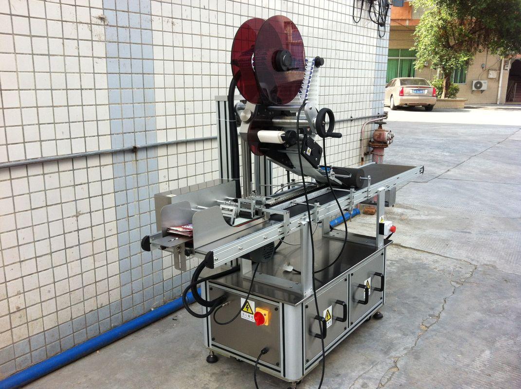 Machine à étiqueter supérieure d'entraînement électrique, étiqueteuse auto-adhésive d'autocollant