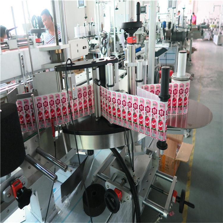 Applicateur d'étiquettes d'autocollant pour l'avant et l'arrière de la bouteille d'étiquettes