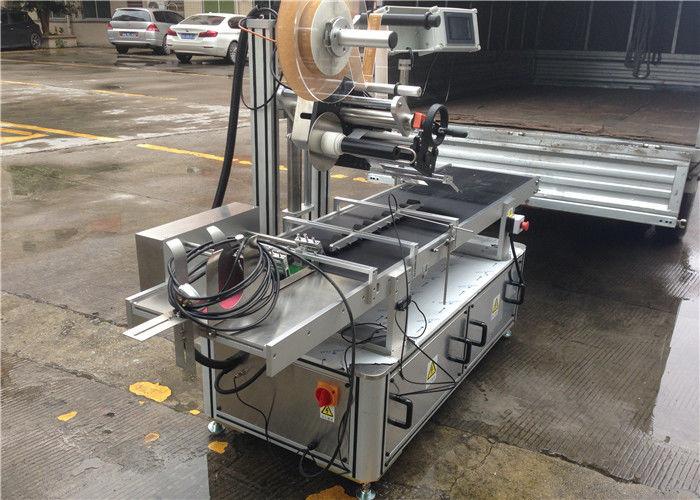 Contrôle supérieur de moteur d'étape de machine d'étiquette d'autocollant de rouleaux à grande vitesse