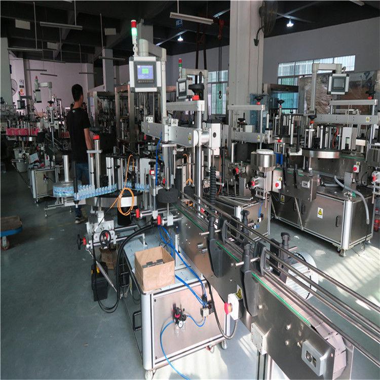 Machine à étiquettes de bouteilles en plastique, machine à étiqueter de bouteilles d'eau minérale potable