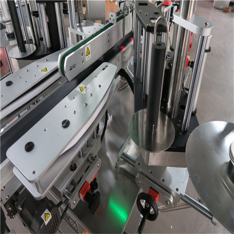 Machine d'étiquetage automatique d'autocollant de la CE, machine d'étiqueteuse de bouteilles avant et arrière