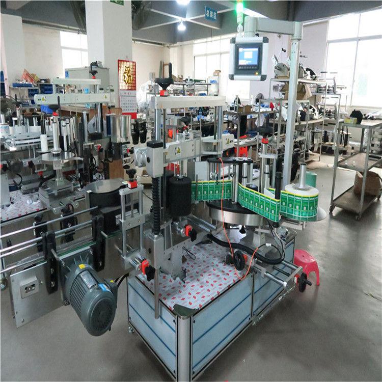 Machine d'étiquetage de bouteille carrée d'applicateur d'étiquette d'autocollant automatique